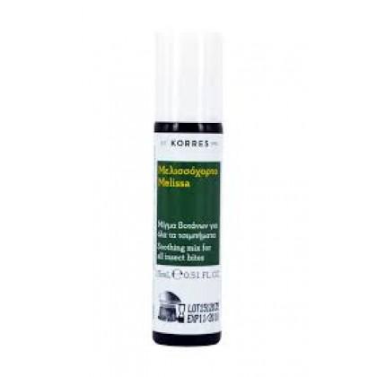 KORRES Μελισσόχορτο Stick για Τσιμπίματα 15ml